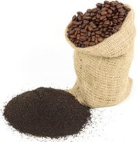 1.Use coffee grounds around flowers/vegs. before watering them for a slow-release of nitrogen. 2.Coffee-ground mulch  deterrs veggie/flower slugs or snails. It is fatal for both. 3.As a fertilizer, grounds are slightly acidic & full of nitrogen, aiding veg/plant growth. Grounds are good for tomato plants, which thrive on nitrogen. Grounds, when used for planting, create a natural acidic form of bacteria which boosts the growth of acid-loving plants as tomatoes, roses, blueberries & evergreen...