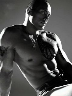 Dwayne Johnson... there are no words.