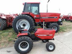 Small Tractors, Case Tractors, End Of An Era, Ih, Garden, Vehicles, Garten, Compact Tractors, Lawn And Garden