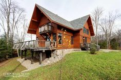 'Evasion' is an incredible 5 bedroom chalet, just minutes from Mont Tremblant Village #Quebec #WinterVacation #Chalet #Cottage #MontTremblant