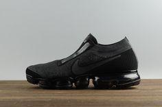 8a1113c0e4ae Nike Air Vapormax Cdg Triple Black 924501 001 2018 New Arrival Shoe