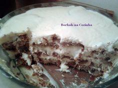 Pavê de bolo de nozes com leite condensado diet