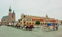 Kraków - Old Town Square