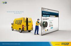 Sedex - Correios #ads #adv #creative #marketing