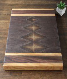 A personal favorite from my Etsy shop https://www.etsy.com/listing/479850901/end-grain-walnut-cutting-board-butcher