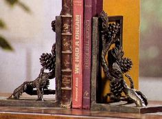 Pinecone Bookends | Museum Store Company gifts, jewelry and more