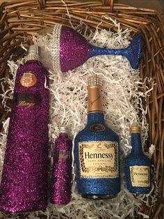 Pin by Xavier Burden on Hennessy Gliter Bottle | Purple ...