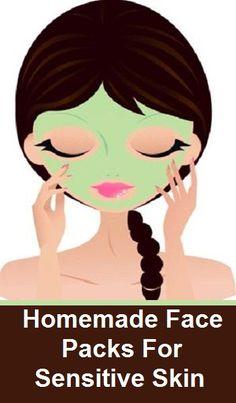5 Homemade Face Packs For Sensitive Skin
