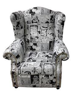 Μπερζέρα Pop Art#mperzera#chair#design#old#classic#