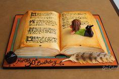 Bolos criativos inspirados em livros - Assuntos Criativos