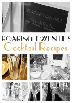 Wow your guests with these delicious cocktail drinks! Also perfect for serving on New Year's Eve!