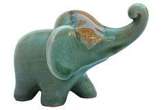 Celadon Elephant, Green on OneKingsLane.com  #onekingslane  #designisneverdone