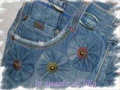 Tasche aus alten Jeans