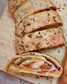 Stromboli is an easy and popular way to feed a crowd for your next gathering. With the Super Bowl coming up soon, I'm searching for an awesome meatless dish to share with my friends! This stromboli recipe is an old favorite that I was able …