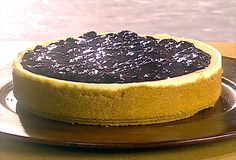 Tyler Florence // Ultimate Cheesecake one of the best cheesecake recipes ever! Ultimate Cheesecake, Cheesecake Recipes, Dessert Recipes, Lemon Blueberry Cheesecake, Blueberry Topping, Fruit Cheesecake, Blueberry Compote, Just Desserts, Delicious Desserts