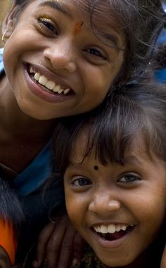 Come on, let's get happy! Love children's cute smiles.