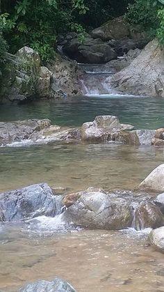 Río en Utuado. UTUADO PR