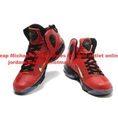 Cheap Nike LeBron 9 P.Elite Gold Red Black 3b5ba8521996