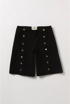 Anthropologie Two-By-Two Shorts Size 2, Black, Elevenses