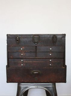 Vintage Industrial Chest of Drawers by owsupply on Etsy via @Dusty Rose