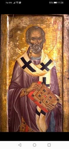 Orthodox Icons, Fresco, Mona Lisa, Photo Wall, Artwork, Painting, Fathers, Saints, Dads