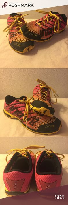 Inov 8 F-Lite 182 Crossfit Shoes Great pair of Crossfit shoes! Inov 8 f-Lite 182. Worn 4 times. Inov 8 Shoes Athletic Shoes