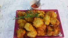 Cozinha Simples da Deia: Couve flor recheada e empanada