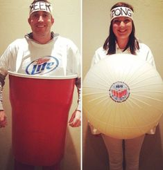120 Creative DIY Couples Costumes for Halloween via Brit + Co #CoupleCostumes #coupleshalloweencostumes