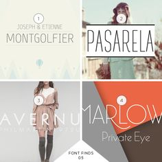 FONT FINDS 05: A LITTLE QUIRKY