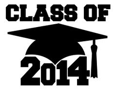 'Class of 2014' free SVG (Links to 2013, 2012, 2011)