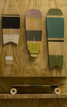 skates, itsu | são três tamanhos: 56x22cm (conhecido por bombinha), 78x29cm e 84x24cm  itsu.com.br