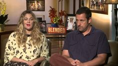 Adam Sandler  Drew Barrymore - Blended interview || I FREAKING LOVE THESE TWO