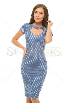 StarShinerS Flawless Blue Dress Baptism Dress, Daily Dress, Dress Backs, Clothing Items, Printed Shorts, Trendy Outfits, Blue Dresses, Short Sleeves, Tropical