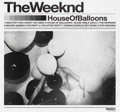 "House of Balloons Music Album Cover Silk Art Poster Prints - "" The Weeknd Album Cover, The Weeknd Albums, New Album Song, Album Songs, Cool Album Covers, Music Album Covers, Book Covers, Rap Albums, Music Albums"