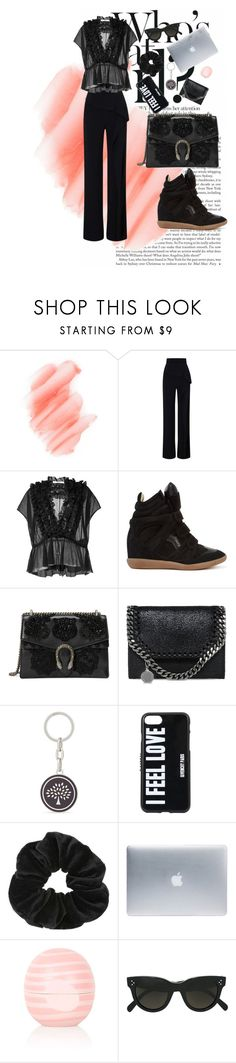 """""""Untitled #19"""" by kajsasjostrom on Polyvore featuring Birchrose + Co., Roland Mouret, Givenchy, Isabel Marant, Gucci, STELLA McCARTNEY, Mulberry, Miss Selfridge, Incase and Eos"""