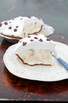 Salted Caramel Hazelnut Ice Cream Pie