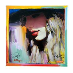 """RED"" Peter Max Poster Art - Signed by Taylor & Peter Max: Taylor Swift Official Online Store"