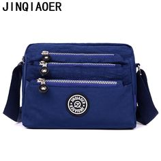 Fashion Womens messenger bags Waterproof Nylon purses and Handbags Female  Crossbody Bags style shoulder hand bags 208e4fc7b378f