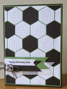 Footie Birthday card by Floral Fantasy                                                                                                                                                     More