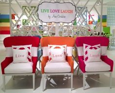 Caracole's new line by Ana Cordeiro debuted at High Point Market | Style Spotter 2013 | Michelle Jennings Wiebe