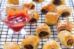 Quick and easy to make, these mini sausage rolls with be a surefire hit!