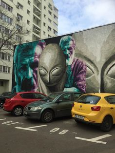 Bucharest Street Art you can't imagine! Brancusi is really well painted by artists! Graffiti Artists, Street Art Graffiti, Street Artists, Brancusi Sculpture, Lion Sculpture, Constantin Brancusi, Visit Romania, Romania Travel, Bucharest Romania