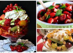 A 12 legfinomabb gyümölcssaláta receptje, fenséges édes desszertek!