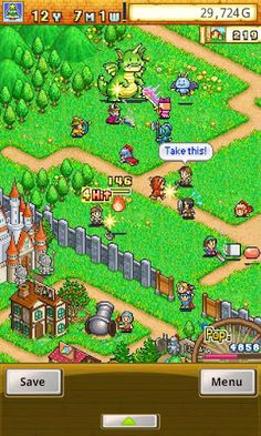 Dungeon Village from Kairosoft for Android. Watch out, the makers of GameDevStory are back at it again!