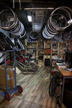 Neat looking bike shop.  Where do you get your mountain bike fixed?