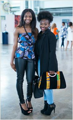 Love the African print purse