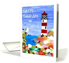 'Lighthouse' Birthday Card: up to $3.50 - http://www.greetingcarduniverse.com/birthday/general-birthday/lighthouse-birthday-card-588211?gcu=43752923941