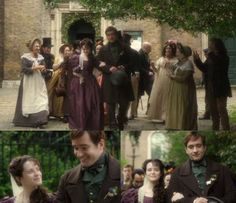 Enchanted Serenity of Period Films: Period Drama Weddings.Little Dorrit (Claire Foy).