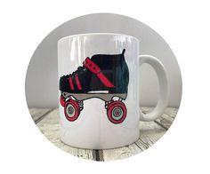 Roller Derby Gift Roller Skate Mug Coffee Cup Coffee Mug