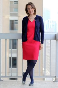 Classic Preppy in Favorite Color Combination: Pink & Navy